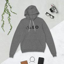 Load image into Gallery viewer, She.E.O Unisex hoodie