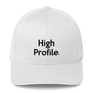 """ High Profile "" Structured Twill Cap"