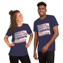 "Load image into Gallery viewer, "" Census 2020 Too "" Short-Sleeve Unisex T-Shirt"
