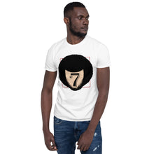 Load image into Gallery viewer, Colin Kaepernick inspired 7 short-sleeve unisex tee 🌠