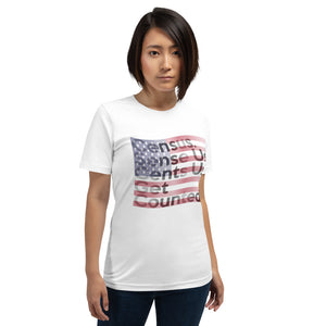 Census 2020 Short-Sleeve Unisex T-Shirt