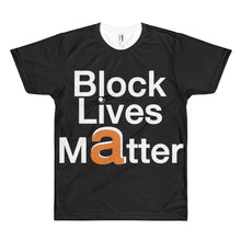 Load image into Gallery viewer, Block Lives Matter Big Letter Flex Driver short sleeve t shirt (*special edition)