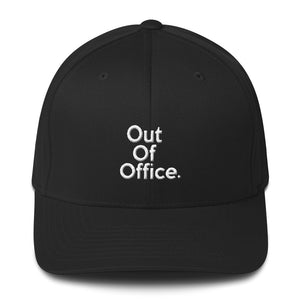 """ Out of Office "" Structured Twill Cap"