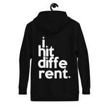 "Load image into Gallery viewer, ""I Hit Different"" Unisex Hoodie"