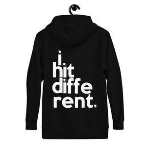 """I Hit Different"" Unisex Hoodie"