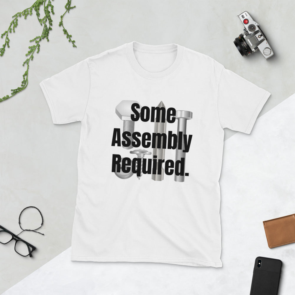 Some Assembly Required Short-Sleeve UNISEX tee