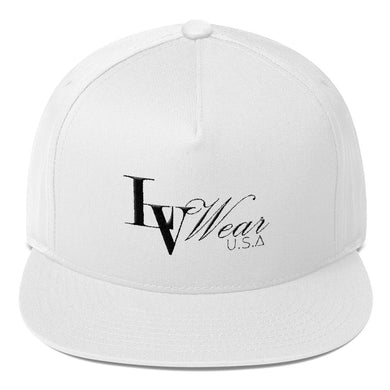 LV Wear™ Embroidered Flat Bill Cap