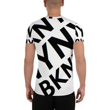 "Load image into Gallery viewer, ""BXNY NYNY BKNY"" Men's Athletic t-shirt"