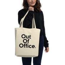 "Load image into Gallery viewer, 📮📦 "" Out of Office "" Eco Tote Bag"