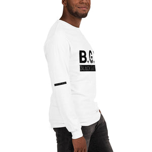B.G.M Black Guy Magic Men's Long Sleeve Shirt