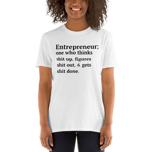 Entrepreneur Magazine inspired (Anvil 980 Unisex) Short-Sleeve Unisex T-Shirt