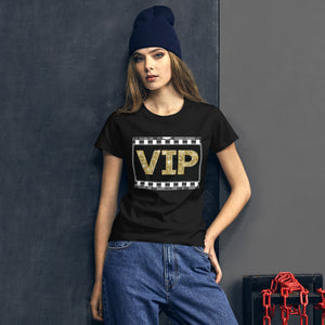 """ VIP "" (film strip) Women's short sleeve tee"