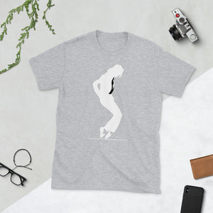 Michael Jackson White Silhouette No Crown short-sleeve unisex tee
