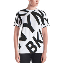 "Load image into Gallery viewer, "" BXYN NYNY BKNY "" women's tee"
