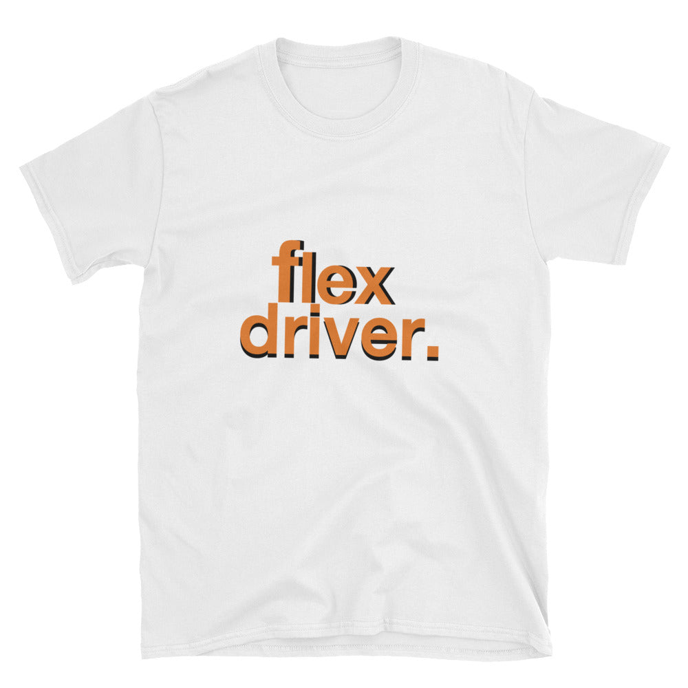 Flex Driver Doordash Door dash Dashers Dasher Postmates Uber Uber Eats Driver short-sleeve unisex t-shirt