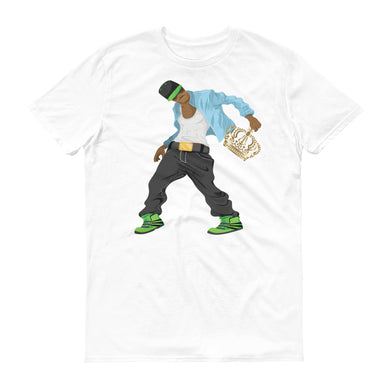Dancing King short-sleeve t-shirt (Anvil)