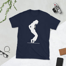 Load image into Gallery viewer, Michael Jackson White Silhouette No Crown short-sleeve unisex tee