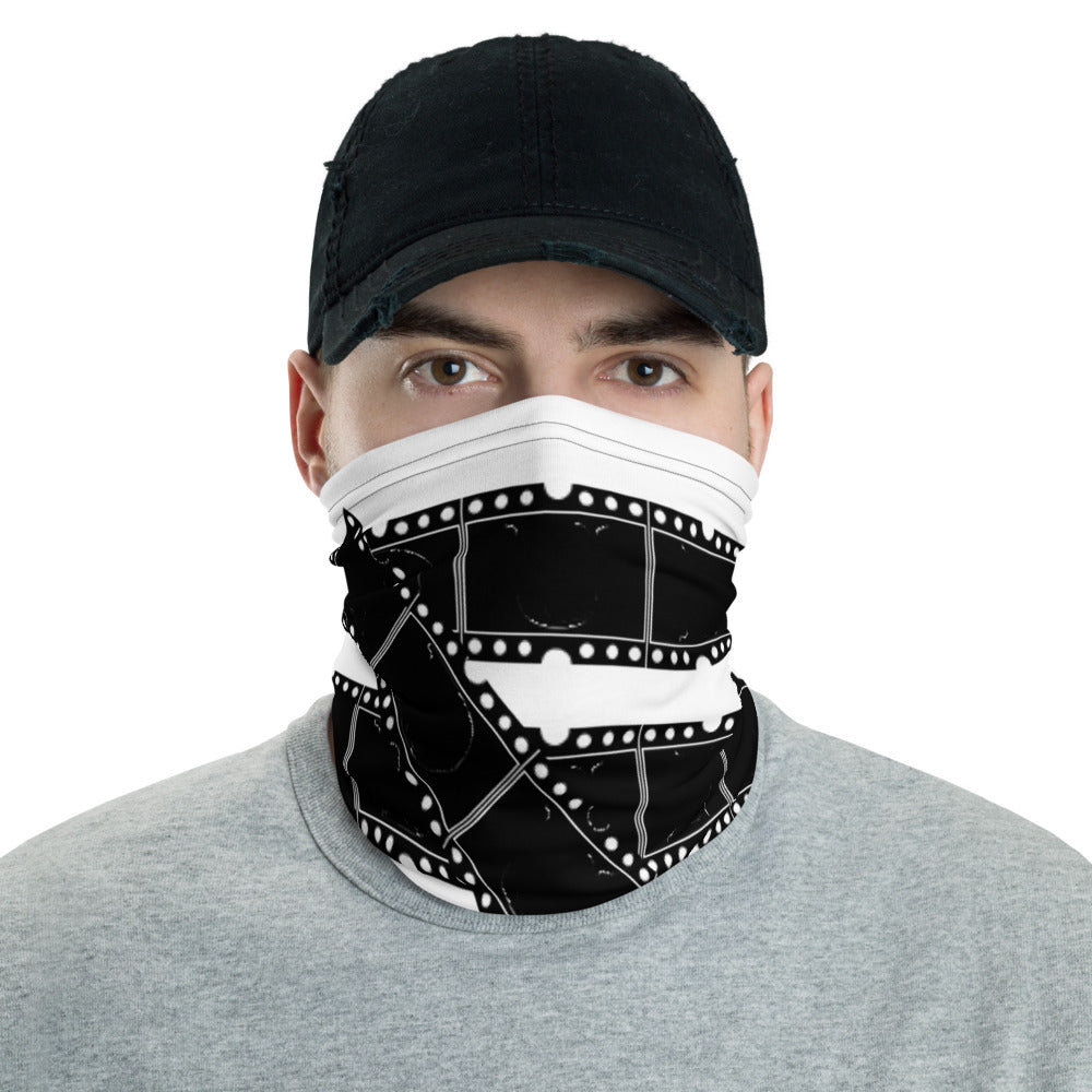 Film Strip Neck Gaiter (Mask / Pandemic PPE Essential wear)
