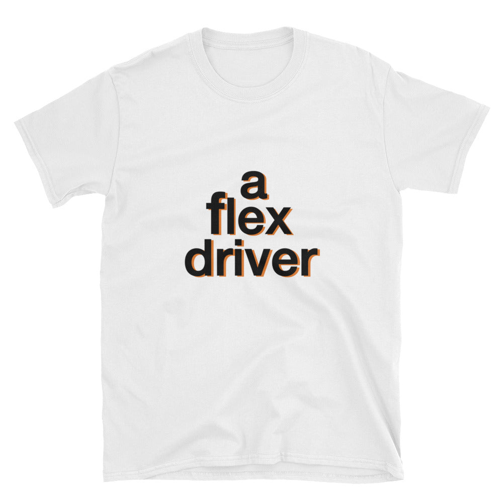 Flex Driver short-sleeve unisex t shirt