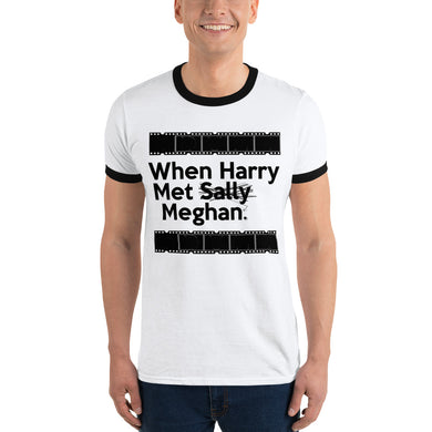 When Harry Met Meghan Ringer T-Shirt