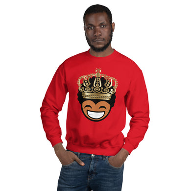 Young, Happy King Unisex Sweatshirt