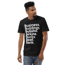 Load image into Gallery viewer, Ari Fletcher  Inspired Business Over Bullsh*t (Unisex Anvil 980) Short-Sleeve T-Shirt