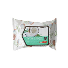 Load image into Gallery viewer, 120-COCO - COCONUT WATER MAKEUP REMOVER CLEANSING TISSUES