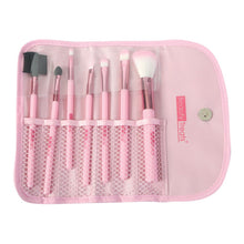 Load image into Gallery viewer, 151 - 7 PIECE BRUSH SET IN POUCH - ROSE GOLD