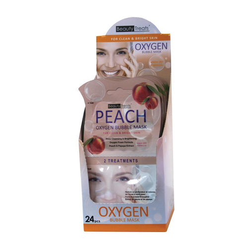204-PO -  PEACH OXYGEN BUBBLE MASK