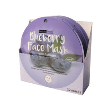 Load image into Gallery viewer, 214-BL - BLUEBERRY FACE MASK WITH COLLAGEN