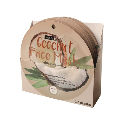 214-CO - COCONUT FACE MASK WITH COLLAGEN