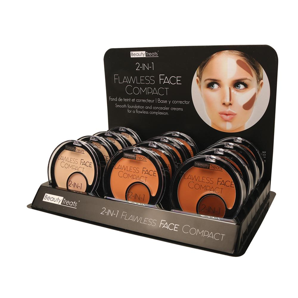 307 - 2-IN-1 FLAWLESS FACE COMPACT