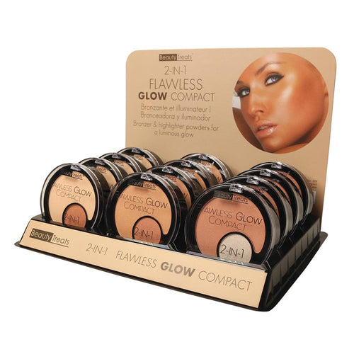 309 - 2-IN-1 FLAWLESS GLOW COMPACT