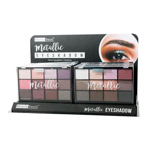 409S - METALLIC EYESHADOW PALETTE