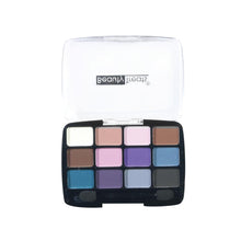 Load image into Gallery viewer, 412-02 - 12 COLOR MATTE EYESHADOW - COOL