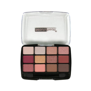 412-07 - 12 COLOR EYESHADOW - ROSE GOLD