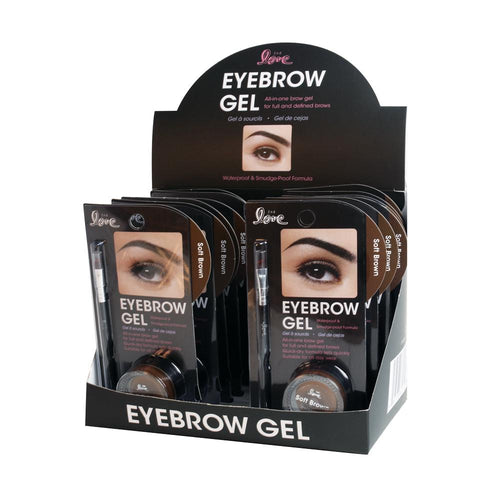 820-01 - 2ND LOVE EYEBROW GEL WITH BRUSH - SOFT BROWN