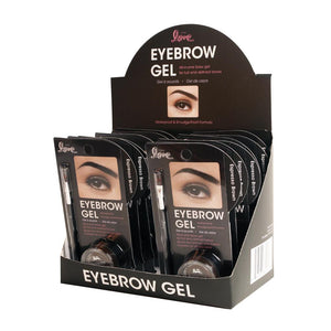 820-02 - 2ND LOVE EYEBROW GEL WITH BRUSH - ESPRESSO BROWN