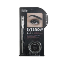 Load image into Gallery viewer, 820-03 - 2ND LOVE EYEBROW GEL WITH BRUSH - CHARCOAL BLACK