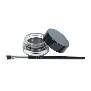 820-03 - 2ND LOVE EYEBROW GEL WITH BRUSH - CHARCOAL BLACK