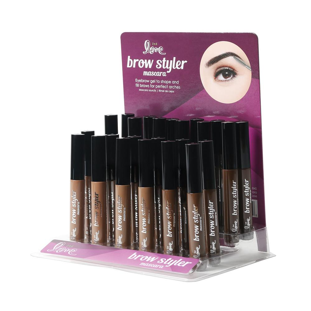 840 - 2ND LOVE BROW STYLER MASCARA