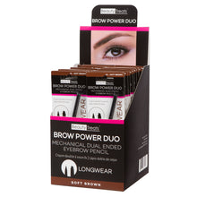 Load image into Gallery viewer, 842-01 - BROW POWER DUO (SOFT BROWN)