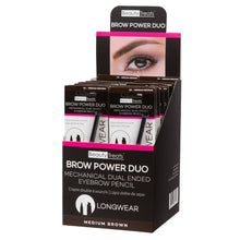Load image into Gallery viewer, 842-02 - BROW POWER DUO (MEDIUM BROWN)
