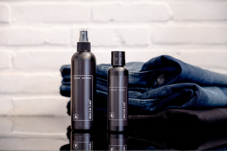 Denim.lab Denim.care denim wash denim refresh