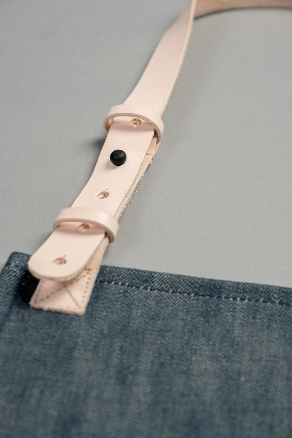 Denim.lab selvage denim apron