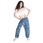 Boho Pants Ayara Green Elephant Pants