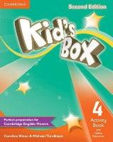 Kid's Box Level 4 Activity Book (CM 4ºAno)