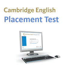 Load image into Gallery viewer, Cambridge English Placement Test - Aferir o seu nível