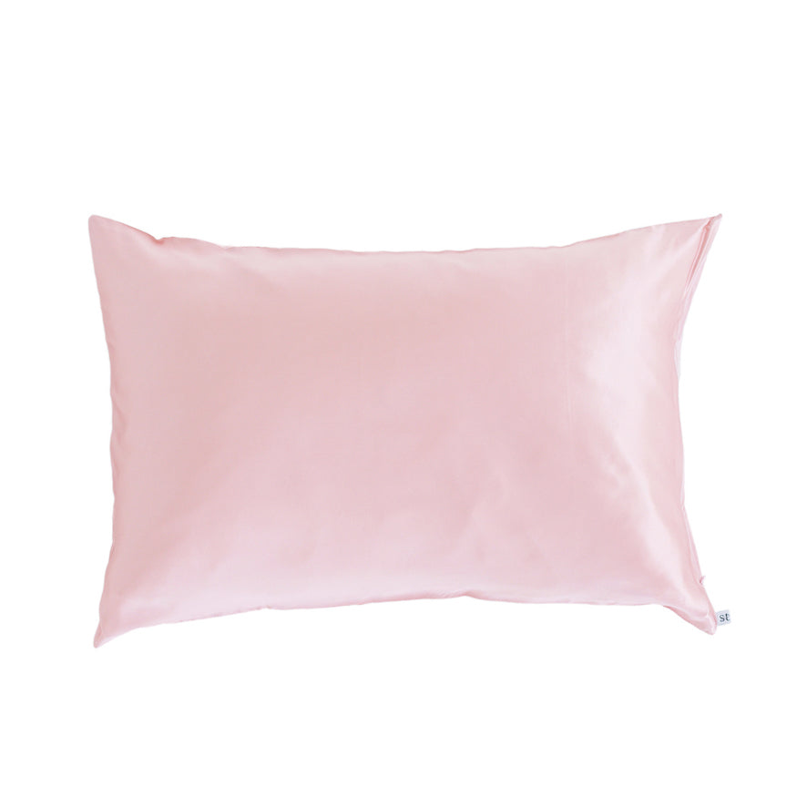 silk pillow slip, silk pillow case, blush silky tots