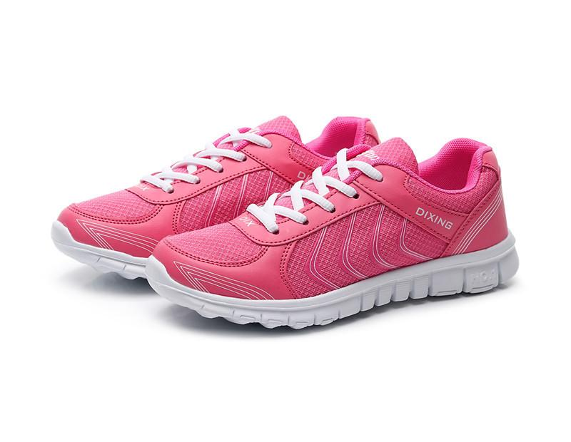 super populaire 62849 59441 Women's Running Shoes Couple Style Breathable Mesh Running Shoes Lace Up  Sneakers